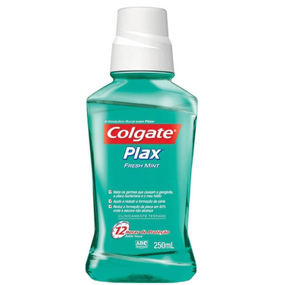 colgate plax fresh mint mouth wash