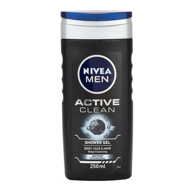 Charming Nivea Shower Gel For Men Active Clean 250ml. Home; /; Nivea Shower Gel For  Men Active Clean 250ml